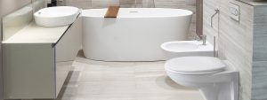 Korszerű mosdót szeretne kialakítani? Válassza hozzá a Fluenta falon belüli WC szettet!