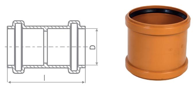 KG-PVC csatornacsövek